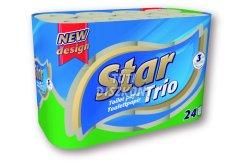 Star Trio Wc papír 3rétegű 24tek., 24 TEK