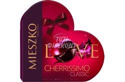 Mieszko Cherissimo alk.meggyel tölt. desszert Love Box, 38.5 G