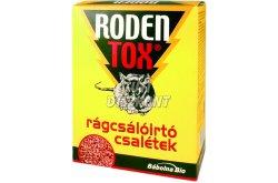 Rodentox rágcsálóirtó csalétek 3x50g, 150 g