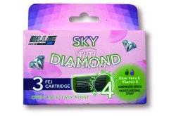 Sky Diamond pótfej 4 pengés 3db(Nöi), 3 db