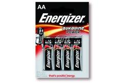 Energizer Power Alkáli Ceruza Elem AA B4, 4 DB