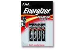 Energizer Power Alkáli Mikro Elem AAA B4, 4 DB