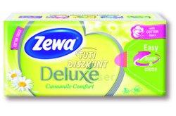 Zewa Deluxe papírzsebkendő 3 rétegű 90db Camomile, 90 db