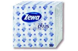 Zewa Plus szalvéta 1 rétegű mintás, 45 DB