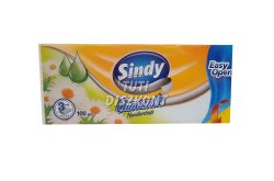 Sindy papírzsebkendő 3 rétegű Kamilla, 100 db
