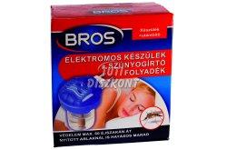 Bros elektr.szúnyogri.kész.+folyadék B023, 1 db