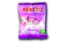 Bebeto Pink-White pillecukor, 60 G