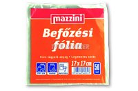 Mazzini Befőzési fólia 17x17cm 50db, 50 DB