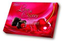 Vobro Love&Cherry desszert konyakmeggyes, 187 G