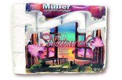 Müller Natural WC papír 2 rétegű 24 tekercs, 24 tek