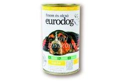 Euro dog kutyakonzerv csirke, 1240 g