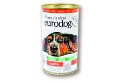 Euro dog kutyakonzerv marha, 1240 g