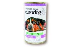 Euro dog kutyakonzerv máj, 1240 g