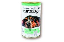 Euro dog kutyakonzerv vadas, 1240 g