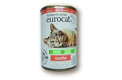 Euro cat cicakonzerv marha, 415 g