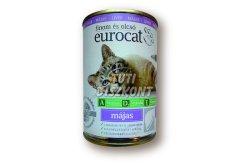 Euro cat cicakonzerv máj, 415 g