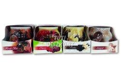 Illatgyertya poharas cherry 70gr, 1 db