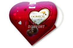 Domior szív tejcsoki praliné, 125 G