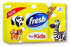 Fresh illatos papírzsebkendő Kids 6*10, 6 db