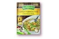 Lacikonyha újházi tyúkhúsleves csigatésztával 4 tányéros, 65 G