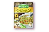 Lacikonyha zöldségleves eperszalag tésztával 4 tányéros, 52 G