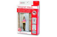 Szúnyogháló függöny ajtóra mágneses 100*210 fehér 11398WH, 1 db