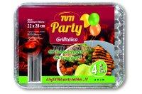 Tuti Party grilltálca 22*28cm 4db, 4 DB