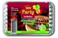Tuti Party grilltálca 23*34cm 3db, 3 DB