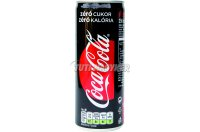 Coca-Cola Zero 250ml dobozos, 250 ML