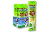 Quick Milk ízesített szívószál 5x6g banán, 30 G
