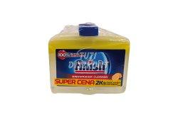 Finish géptisztító DUO 2*250ml Citrus X, 500 ml