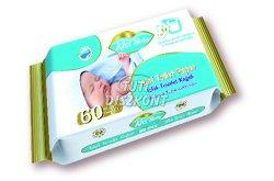 Kiss Baby nedves wc papír, 60 db