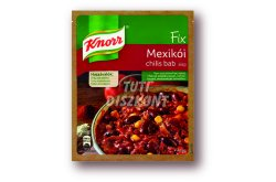 Knorr Fix Mexikói chilis bab alap, 50 g