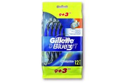 Gillette Blue3 Smooth eldobható borotva, 12 db