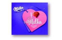 I Love Milka desszert eperkrémes, 110 G