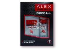 Alex díszdoboz ffi (after+borotvahab) Fireball, 1 DB