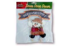 Karácsonyi dekor ajtódísz hóember, 1 db