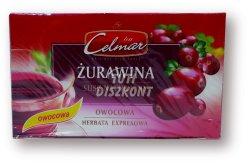 Celmar gyümölcstea vörösáfonya, 34 g
