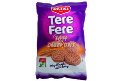 Detki Tere-Fere keksz mézes, 180 G
