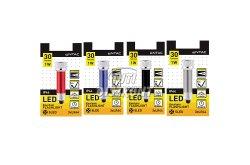 Entac elemlámpa 5 LED kulcstartós több szín, 1 DB