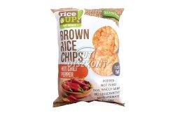 Rice Up rizs chips chili, 60 G