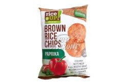 Rice Up rizs chips paprikás, 60 G