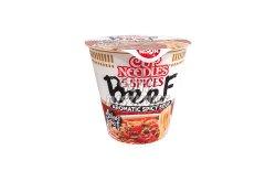 Nissin Cup Noodles poharas tészta marha, 64 g