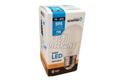 Schiffer LED izzó E27 7W, 1 db