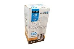 Schiffer LED izzó E27 9W, 1 db