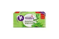 Müller papírzsebkendő 4 rét. Bambusz-fehértea, 100 db