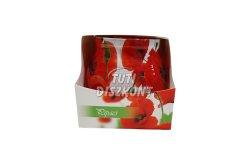Illatgyertya poharas pipacs 70gr, 1 db