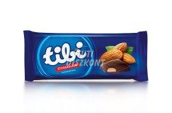 Tibi táblás csokoládé ét púpos mandulakrémes, 97 g