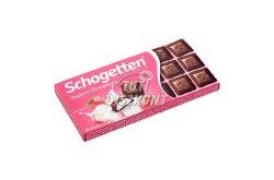 Schogetten csokoládé Yoghurt-strawberry, 100 g