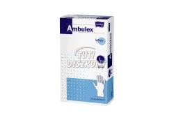 Ambulex Latex kesztyű púderes L, 100 db